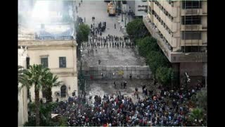 Arab Spring 2011 -Violence in Egypt clashes