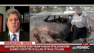 Growing Outrage Over Trump Pardon Of Blackwater Guards
