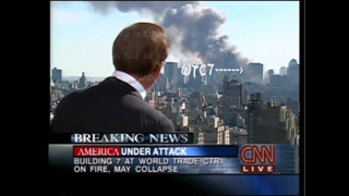 9/11/01 WTC7 Collapsed Report from CNN's aaron brown