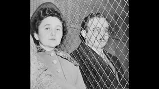 Jews Julius and Ethel Rosenberg convicted for revealing atomic secrets to Russian June 19, 1953