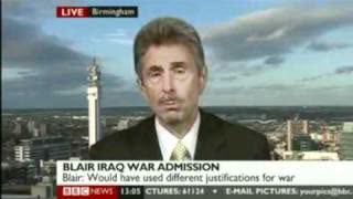 Father of soldier killed in Iraq says Tony Blair is war criminal and international terrorist