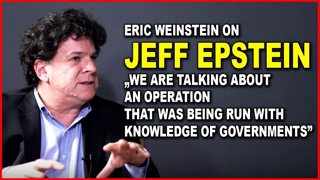 Eric Weinstein: Why is Still No One Asking These Questions about JEFF EPSTEIN