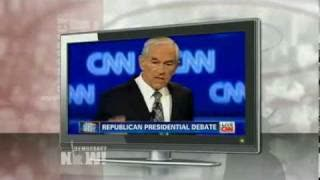 """Noam Chomsky on Ron Paul's 9/11 Theories: """"What He Said Is Completely Uncontroversial"""""""