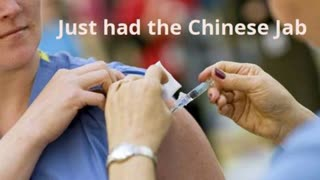 I just had the Chinese Jab - funny