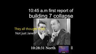 Should we forget 9/11 BBC prematurely announcing Collapse WTC7 After Explosions?