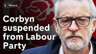 Labour suspends Jeremy Corbyn over anti-Semitism report comments