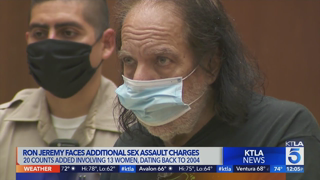 Ron Jeremy charged with 20 additional counts of sex abuse