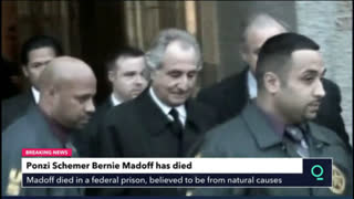 Jew Bernie Madoff, Largest Ponzi Schemer dies in Prison at 82