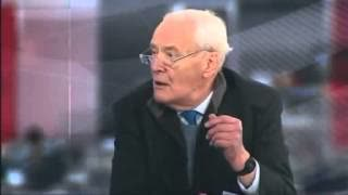 One of Tony Benn's finest moments (2009 Gaza Aid Appeal)