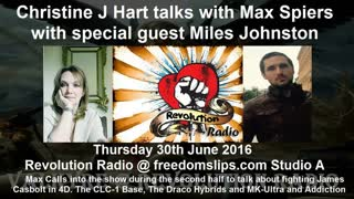 Christine J Hart talks with Max Spiers with special guest Miles Johnston