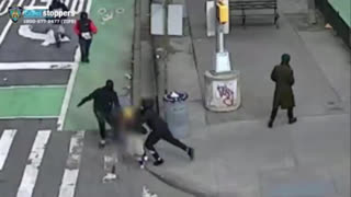 Asian Man Beaten and Stripped of Clothes in New York China Town