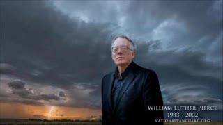 Dr. William Luther Pierce: Nationalism VS The Jew World Order