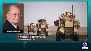 Former US diplomat: US is still stealing Syrian oil from the Syrian people