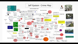 Epstein Crime Map (Updated) Part 1 of 3