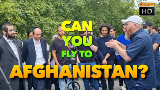 *NEW Fly to Afghanistan? Hamza Vs Jewish Visitors | NEW | Speakers Corner | Hyde Park