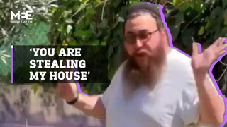 Israeli settler's attempt to justify forcible takeover of a Palestinian home sparks online anger