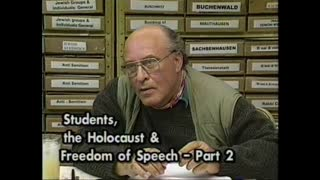 AVOF 150 - Students, the Holocaust and Freedom of Speech - 2 of 3