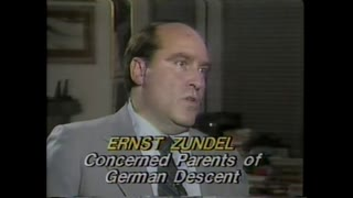 Ernst Zundel - News Clips - 1983-1985 part 1 of 2