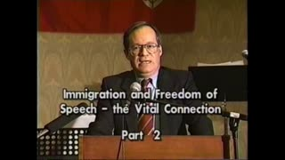 AVOF 155 - Immigration and Freedom of Speech - The Vital Connection (1998) 2 of 2