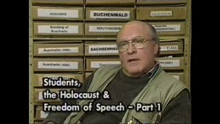 AVOF 149 - Students, the Holocaust and Freedom of Speech - 1 of 3