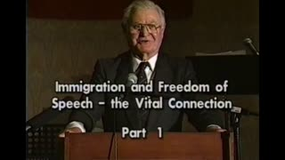 AVOF 154 - Immigration and Freedom of Speech - The Vital Connection  (1998) 1 of 2