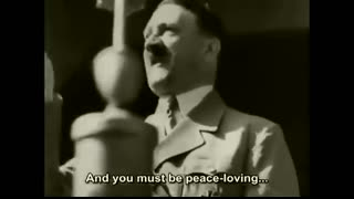 Hitlers Most Passionate Speech To The Youth
