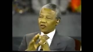 COMMUNIST LEADER NELSON MANDELA ADMITS JEWS ARE KEY COLLABORATORS IN OVERTHROWING WHITE SOUTH AFRICANS