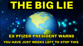 THE LIES JUST DON'T END - FORMER PFIZER VICE-PRESIDENT WARNS YOU HAVE JUST WEEKS LEFT TO STOP THIS