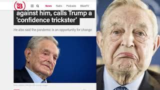 Soros says there is an 'international conspiracy' working against him
