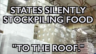 """States Secretly Stockpiling Food for Need Ahead - """"To the Roof!"""""""