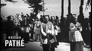 Ile D'yeu Part Of World News - Funeral Of Petain (1951)