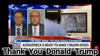 Tucker Carlson guest host is ecstatic that Donald Trumps vaccine is almost ready