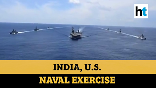 Amid China tension, India & US Navy conduct joint exercise in Indian Ocean