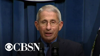 """Dr. Fauci says young people driving """"paradigm shift"""" as virus spreads"""