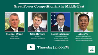Great Power Competition in the Middle East