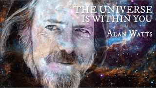 ALAN WATTS | THE UNIVERSE IS WITHIN YOU | 528 hz | MANIFESTATION TECHNIQUE | FREQUENCY MEDITATION