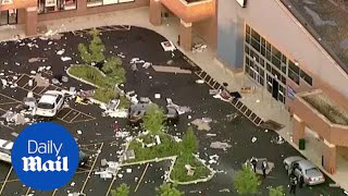 Widespread destruction left behind after night of protests and looting in Chicago