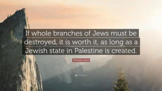 Freemasonry And Satanism, Book Review 252 Pt 4, The Jewish State By Theodor Herzl