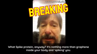 Dr. Luis Marcelo Martínez: The Spike Protein Is Nothing More Than Graphene Inside Your Body And Spiking You