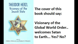 Freemasonry And Satanism, Book Review 252 Pt 5, The Jewish State By Theodor Herzl
