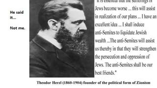 Freemasonry And Satanism, Book Review 252 Pt 7, The Jewish State By Theodor Herzl
