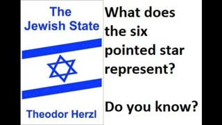 Freemasonry And Satanism, Book Review 252 Pt 3, The Jewish State By Theodor Herzl