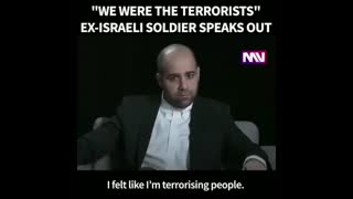Former IDF Soldier Comes Clean Part 2