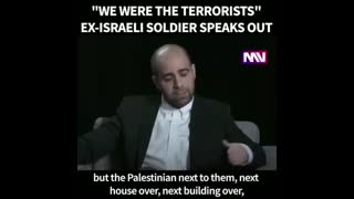 Former IDF Soldier Comes Clean Part 1