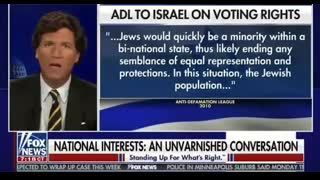 Tucker Calls Out The ADL
