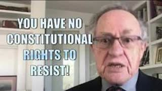 ALAN DERSHOWITZ: YOU HAVE NO CONSTITUTIONAL RIGHT TO REFUSE VACCINATIONS!