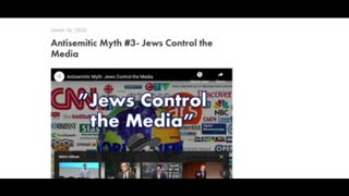 StopAntisemitism.org Attempts to Debunk Jewish Control of the Media - FAIL!!
