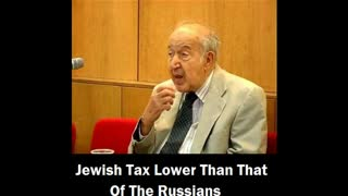 Jewish tax was lower than that of the Russians...