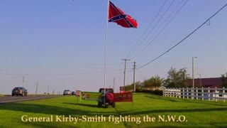 Raising Confederate Awareness, Large Flag and Banners