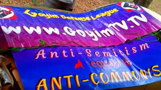 PRO-GERMAN, PRO-CONFEDERATE, NEW BANNERS FOR ROADSIDE DISPLAYS